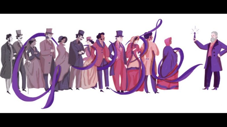Google Doodle celebrates Sir William Henry Perkin 180th birthday