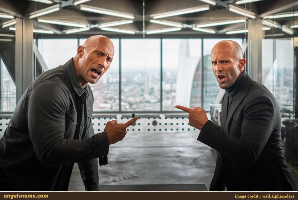 13 Celebrity Names from the Movie Fast & Furious Presents Hobbs & Shaw You Should Consider for Your Little One