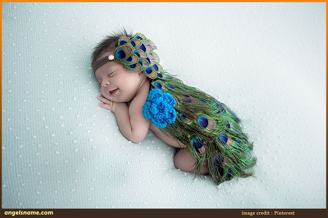 50 Beautiful Baby Girl Names Inspired By Peacock