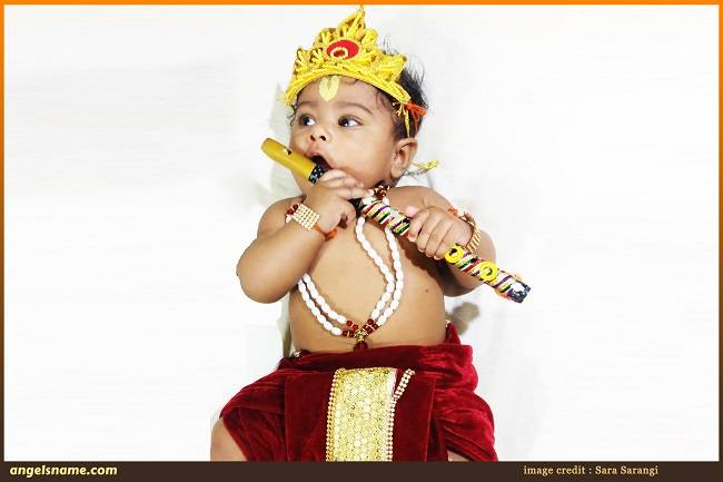 108 Lord Krishna Names for Baby Boy with Meaning