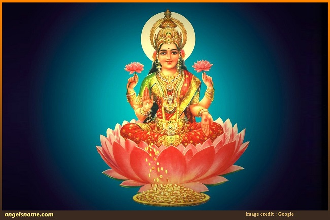 108 Goddess Lakshmi Names for Baby Girl with Meaning