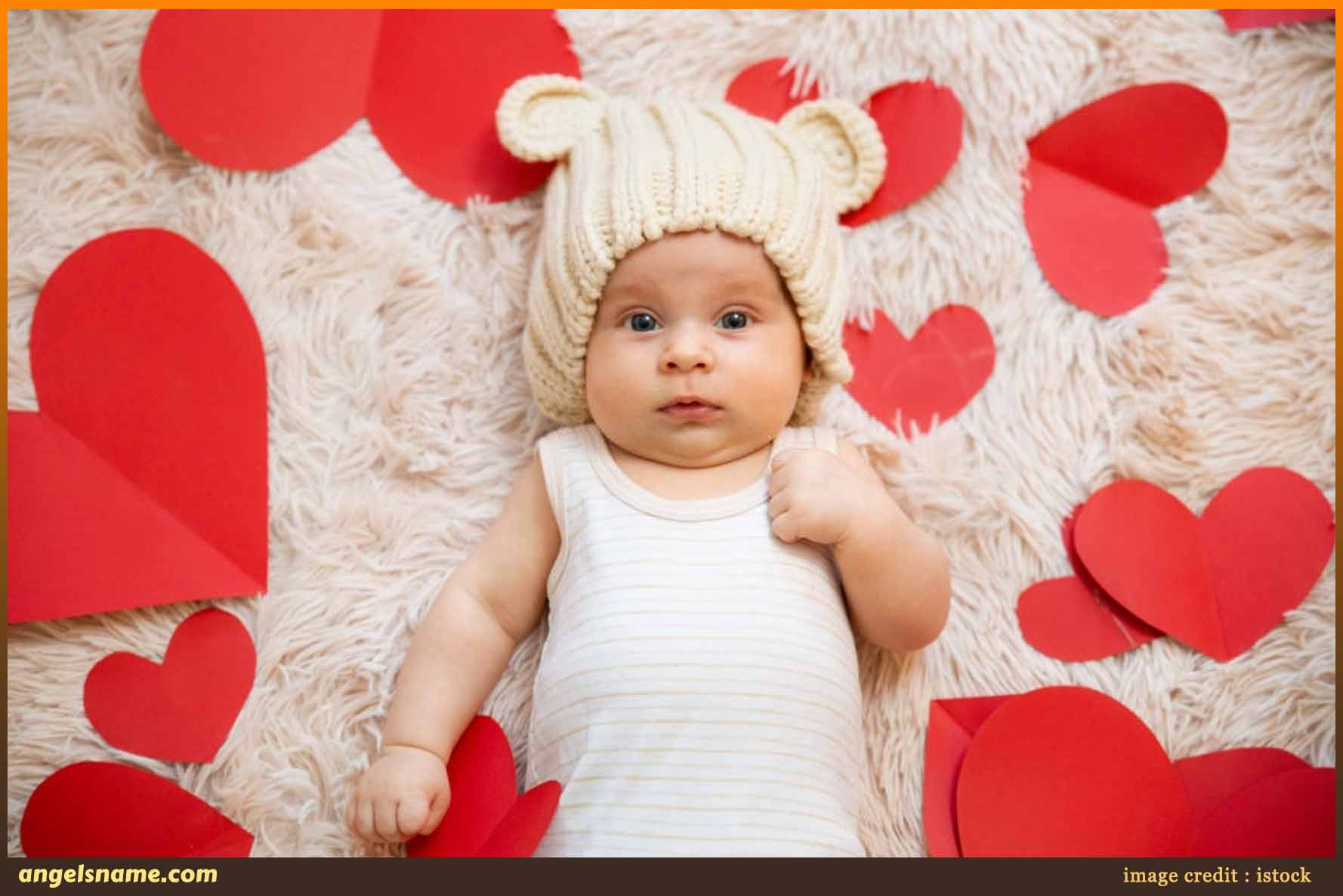 500 Sweet Baby Names That Mean Love